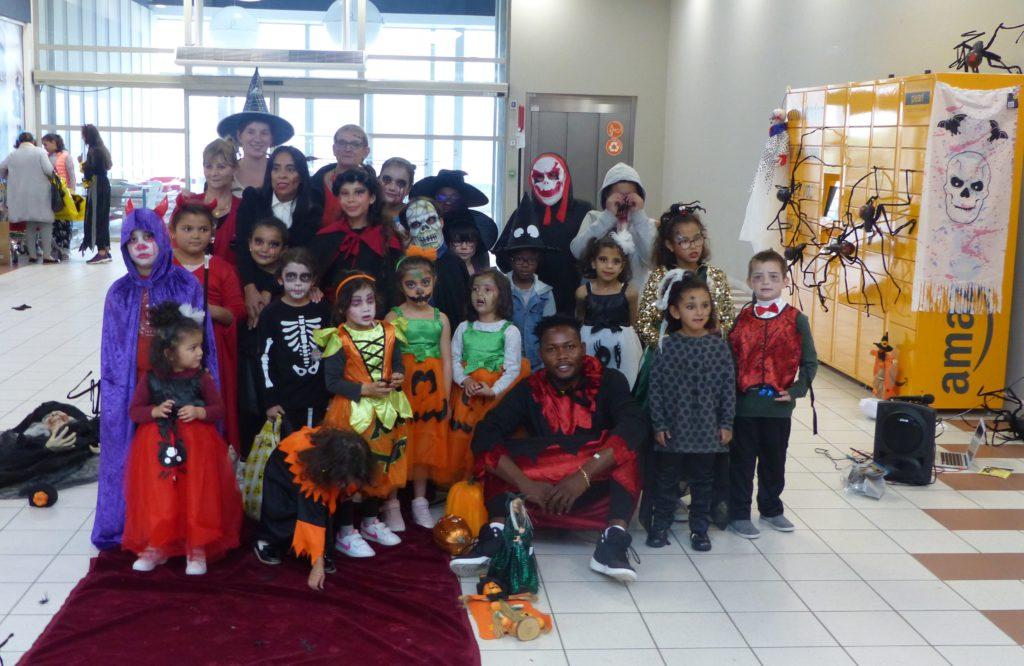 Défilé Halloween Auchan Nord SPF63